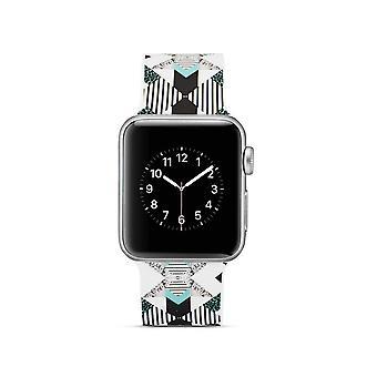 Siliconen horlogebandje voor Apple Watch 4 40mm, 3/2/1 38mm-verticale streep
