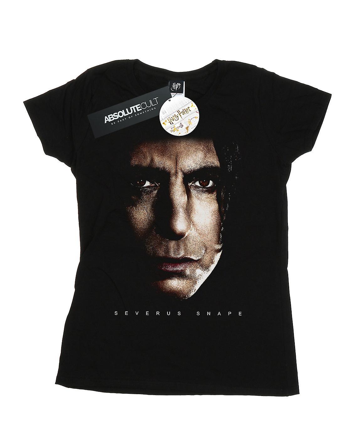Harry Potter Women's Severus Snape Portrait T-Shirt