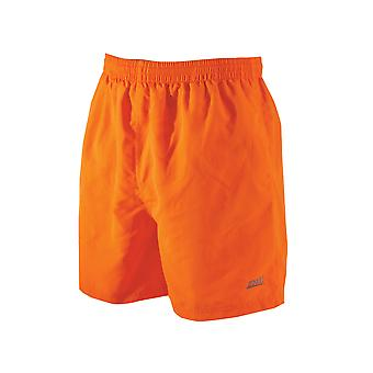 Zoggs Mens Penrith Shorts oranje in maten S - XXL beschikt over een elastiek in de taille