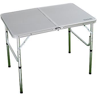 レガッタ Cena 軽量頑丈なアルミニウム製のキャンプ テーブル アウトドア