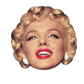 Marilyn Monroe Card Fancy Dress Mask