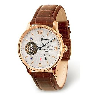 Zeno-relógio Herrenuhr Tourbillon retrógrada poder reserva ouro 18 ct 6791TT-RG-f2