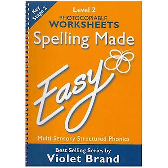 Spelling Made Easy: Level 2 Photocopiable Worksheets (Spelling Made Easy)