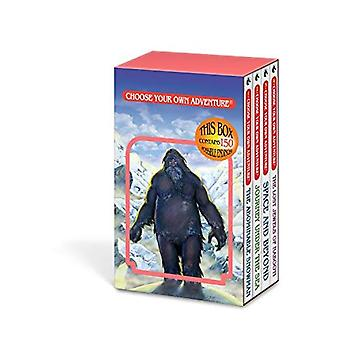 Choose Your Own Adventure 4-Book Set, Volume 1: The Abominable Snowman/Journey Under the Sea/Space and Beyond/The Lost Jewels of Nabooti (Choose Your Own Adventure)