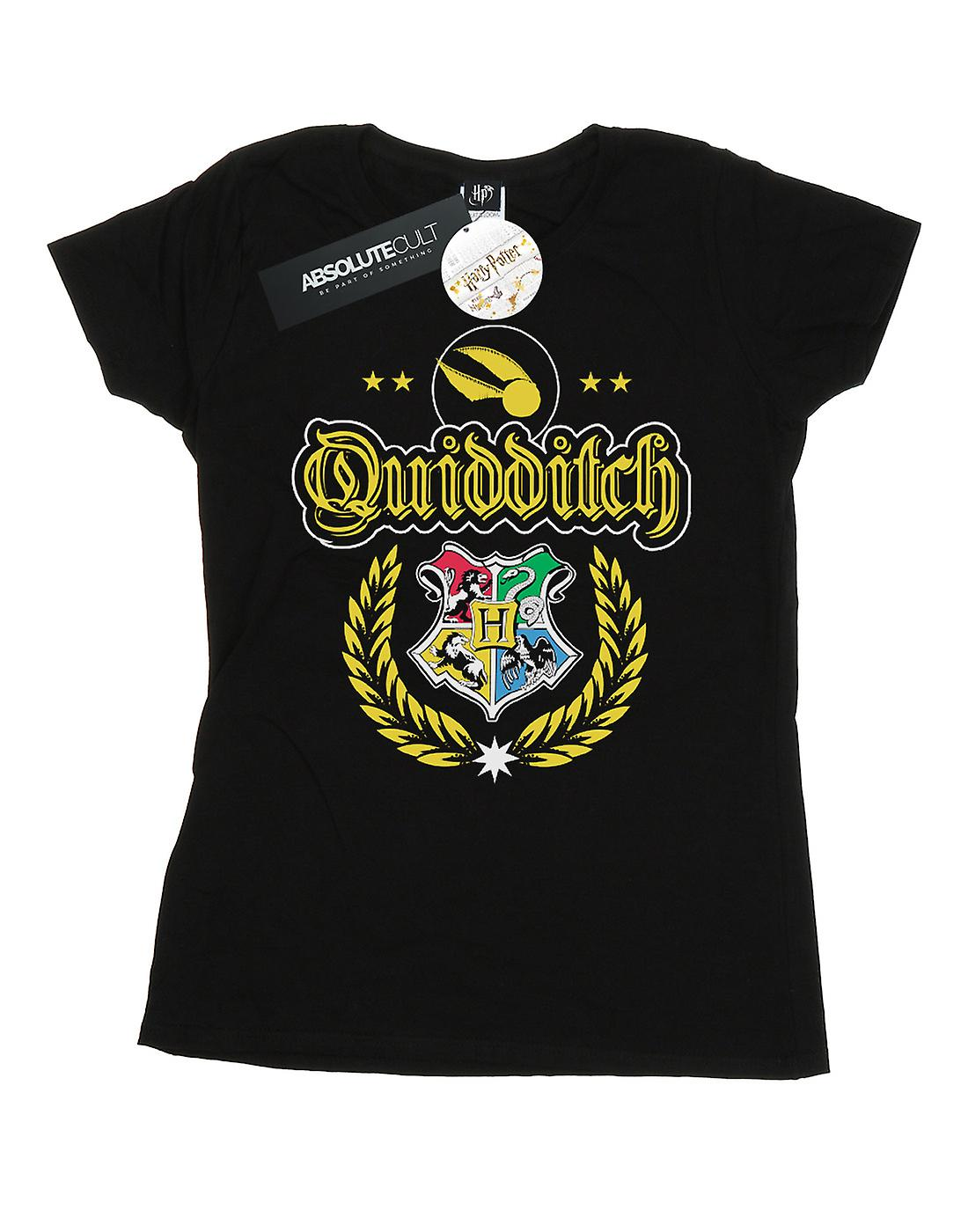 Harry Potter Women's Quidditch Crest T-Shirt