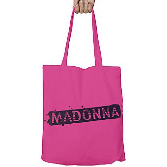 Madonna Tote Bag Eco Shopper Bag Logo new Official Pink