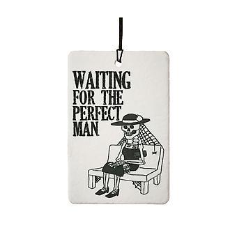 Esperando o homem perfeito refrogerador de ar de carro