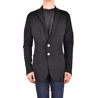 Bikkembergs Ezbc101060 Men's Black Wool Blazer