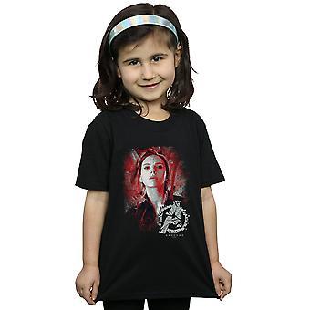 Marvel Avengers dziewczyny Endgame czarna wdowa szczotkowane T-Shirt
