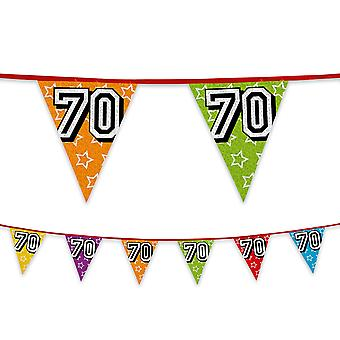 Birthday Party Anniversary Number Bunting 8m Long Numbers 1 to 100