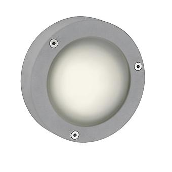 Firstlight-1 licht buitenwand licht aluminium, mat glas IP44-6086AL