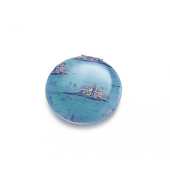Intrigue Landscape Compact Mirror