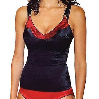 Rago style 9192 - satin and lace stretch camisole soft shaping