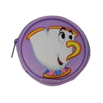 Beauty and the Beast Chip Round Coin Purse