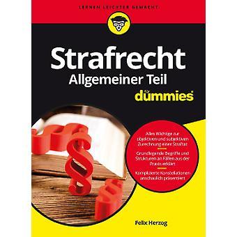 Strafrecht Allgemeiner Teil Fur Dummies by Felix Herzog - 97835277128