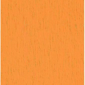 Orange Textured Embossed Tapete Modern Simple Plain Luxury Decor Feature