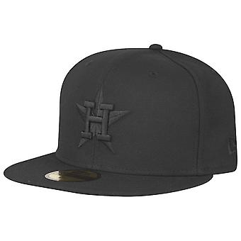 New Era 59Fifty Cap - MLB BLACK Houston Astros Cooperstown
