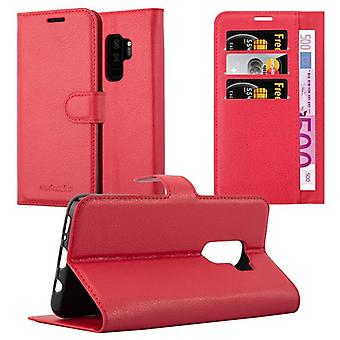 Cadorabo Case for Samsung Galaxy S9 PLUS Case Cover - Phone Case with Magnetic Closure, Stand Function and Card Case - Case Cover Case Case Case Case Book Folding Style