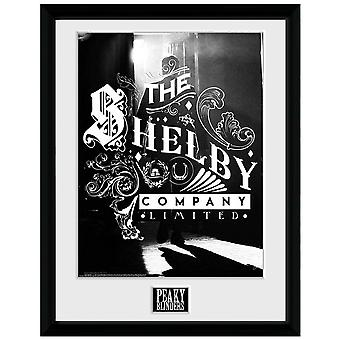 Peaky Blinders Shelby Company Framed Poster