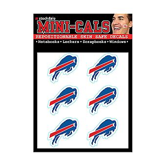 Wincraft 6 Ers Face Sticker 3cm - NFL Buffalo Bills