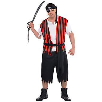 Amscan Adult Pirate Costume (Babies and Children , Costumes)