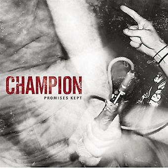 Champion - Promises Kept [CD] USA import