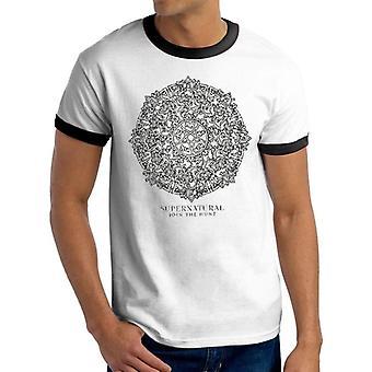Supernatural Adults Unisex Symbol T-Shirt