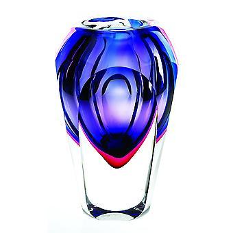 Vase violet slice cut h9