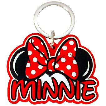 Minnie Mouse Laser Cut Keychain