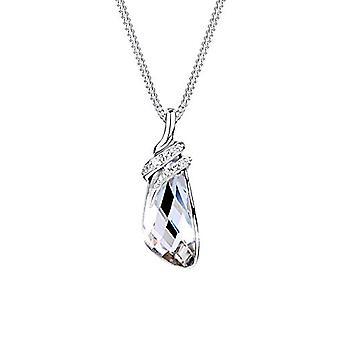 Elli silver hängsmycke halsband 925 med Swarovski kristaller-briljant cut-45 cm 0107263014_45