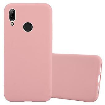 Cadorabo sag for Huawei P SMART 2019 sag Cover-mobiltelefon sag lavet af fleksibel TPU silikone-silikone sag beskyttende etui Ultra Slim Soft tilbage Cover sag kofanger