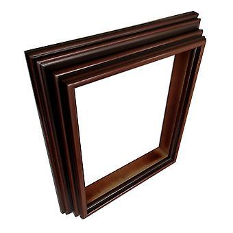 28x35 cm or 11x14 inch, photo frame in Burgundy