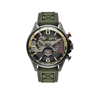 AVI-8 - Wristwatch - Men - Hawker Harrier II AV-4056 - AV-4056-03 - Vert