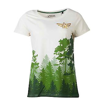 Zelda T Shirt The Woods new Official  Womens Skinny Fit