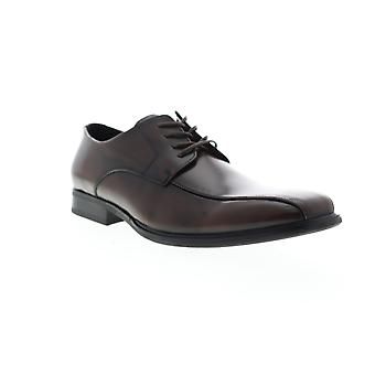 Unlisted by Kenneth Cole City Lace Up B Mens Brown Dress Oxfords Shoes