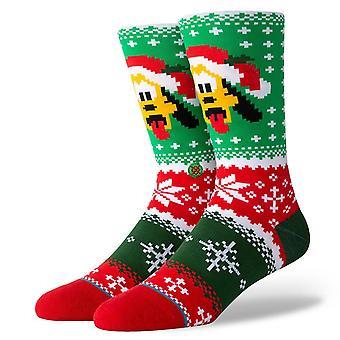 Stance Foundation Mens Socks ~ Pluto Claus