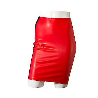 GP Datex lápis saia-vermelho