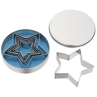 Judge Bakeware, 6 Piece Traditional Star Cutters