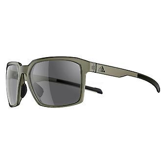 adidas Evolver SPX Frame Sport Sunglasses - Olive Matt - Grey