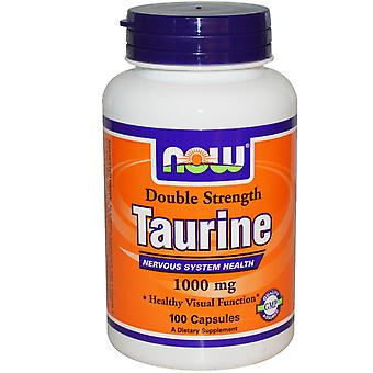 Taurine Double Force 1000 mg (100 Capsules) - Now Foods