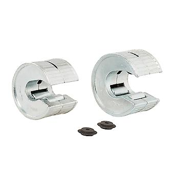 Rotary Copper Pipe Cutter Set 4pce - 4pce Set 15 and 22mm