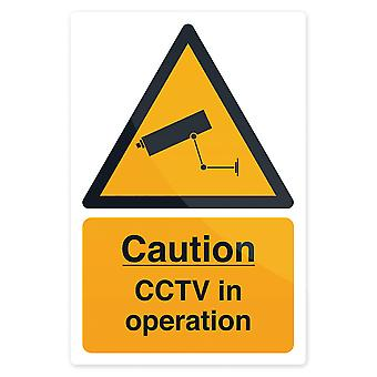 CCTV In Operation Sign - 200x300mm Autoadesivo