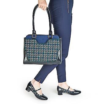 Ruby Shoo naisten ' s Jolene matala kantapää Baari kengät & matching Tunis laukku