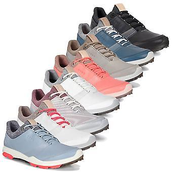 Ecco Womens Biom Hybrid 3 Gore Tex Couro Impermeável Sapatos de Golfe
