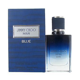 Jimmy Choo Man Blue 30ml Eau de Toilette Spray for Men