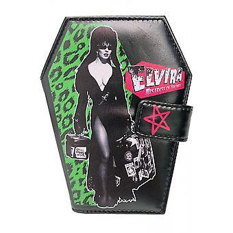 Kreepsville 666 Elvira Leo matka tavaroiden Coffin lompakko