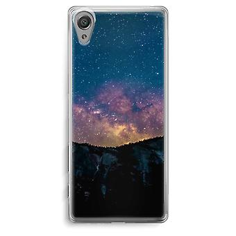 Sony Xperia XA Transparent Case - Travel to space