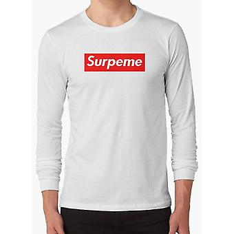 Supreme surpeme hypebeast swag  white full sleeves t-shirt