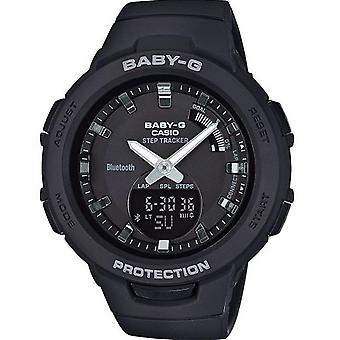 Casio BABY-G BSA-B100-1AER watch - klocka R sine kronograf svart