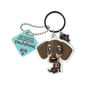 Wags & Whiskers Keyring - Dachshund